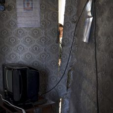 GEORGIA.Many miners are originally from the villages, on the surface of the mine tunnels, to keep their jobs and feed their families they are digging and exploding under their own homes. Many miners homes get ruined, living in a room full of holes.